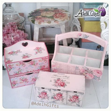 Decoupage Gifts - napkin decoupage adelh gifts