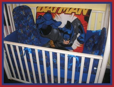 Batman Crib Bedding Sets Batman Fabric Crib Bedding Set Baby Ideas For Later