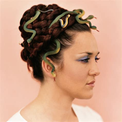 perfect wedding hairstyle medusa and a glass of bubbly medusa hair martha stewart