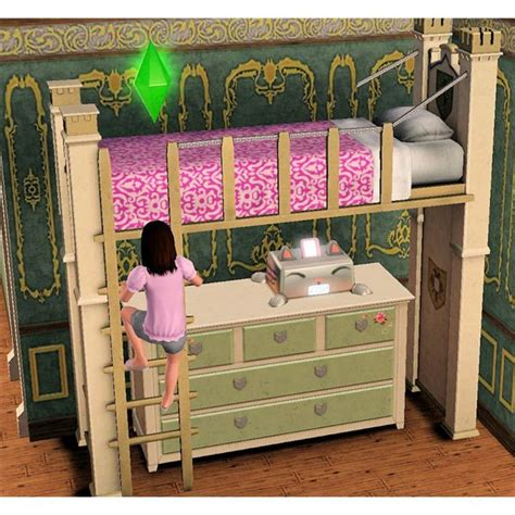 sims 3 beds save space with the sims 3 bunk beds for kids and teens
