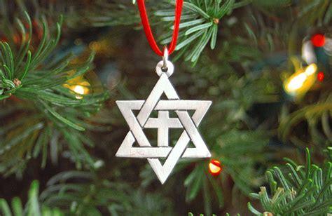 star of david christmas tree