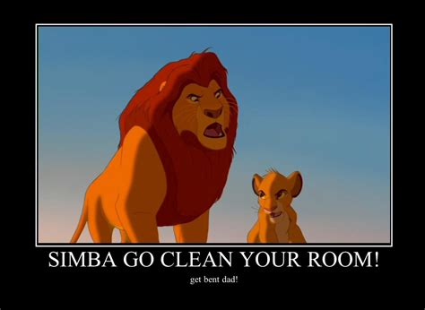 Mufasa Meme - simba and mufasa motivational by alucardserasfangirl on