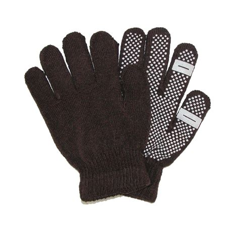knit gloves womens grip knit texting winter gloves by ctm 174 gloves