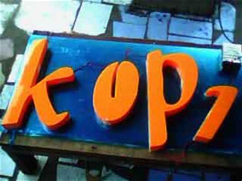 Acrylic Huruf huruf timbul acrylic 5 huruf timbul bandung huruf timbul