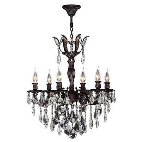 versailles chandelier worldwide lighting versailles 6 light flemish brass