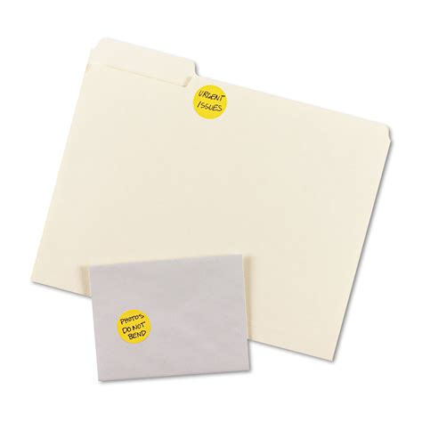 Removable Printable Labels