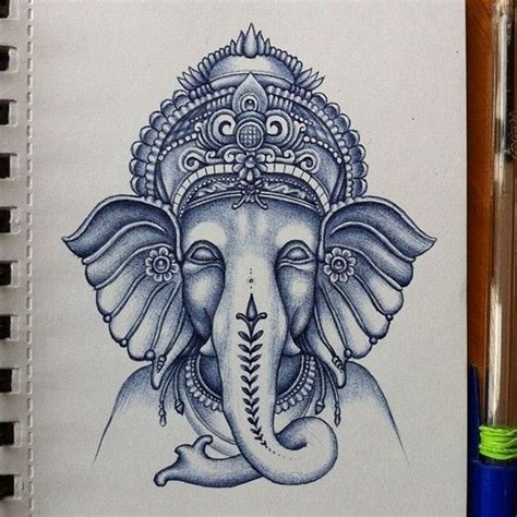 ganesh tattoo colorato ganesh ilustration pinterest ganesh tattoo and ganesha