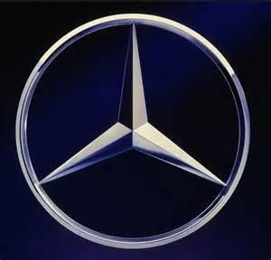 Mercede Logo Mercedes Logo Mercedes Emblema Di Materiale