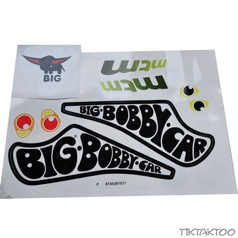 Bobby Car Racing No 3 Aufkleber by Big Bobby Car Aufkleber Racer Sticker Aufklebersatz
