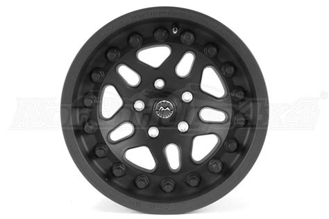 jeep beadlock wheels hutchinson rock beadlock wheel wblack caps matte