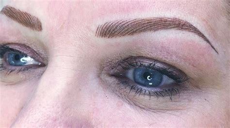 tattoo eyebrows hair strokes beautiful brows for summer permanent make up glasgow