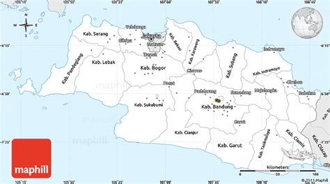 java layout east west silver style simple map of west java