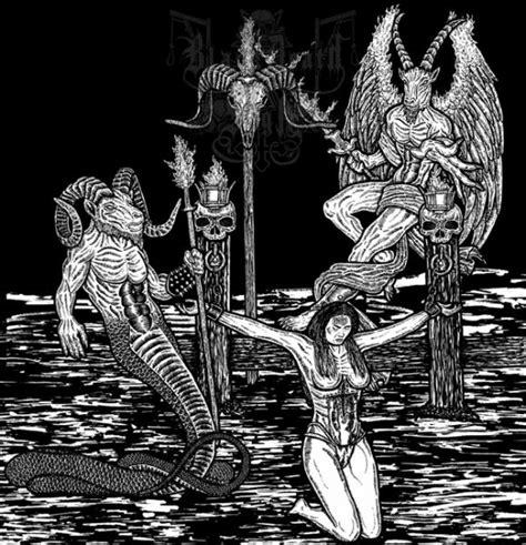 imagenes mas satanicas del black metal dise 241 os satanicos portadas black metal taringa