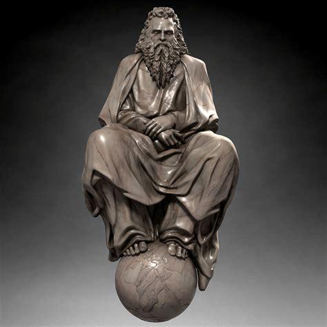 god statue god statue 3d max