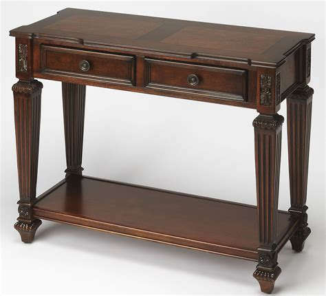 brown console table hastings brown console table from butler coleman