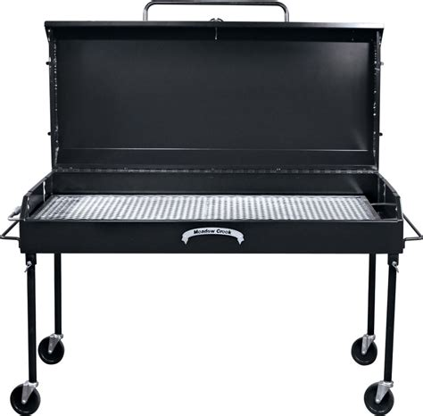 Barbecue Charcoal Grill by Meadow Creek Bbq60 Charcoal Grill Commercial Grills