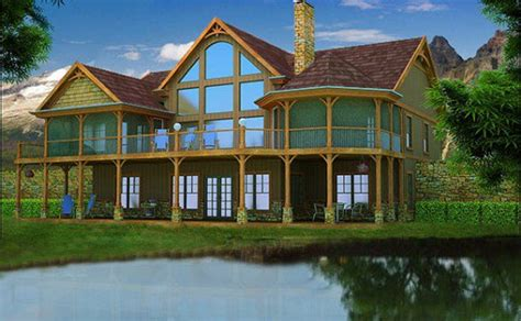 mountain lake house plans lake house plans specializing in lake home floor plans