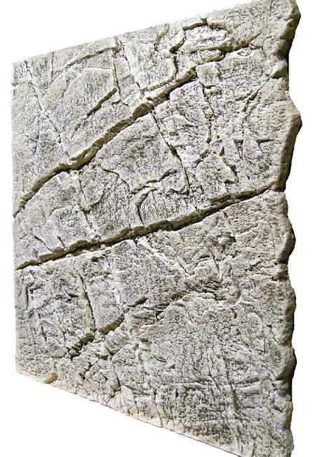 slimline aquarium r 252 ckwand 60 b sandstein white limestone
