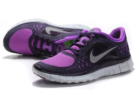 nike free 5 0 running shoes black purple nk 01219 163 48