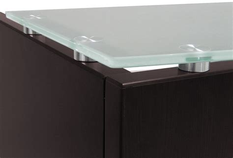 Reception Desk Glass Glass Front Reception Desk In 5 Colors