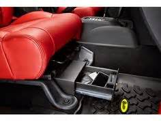seat gun safe jeep wrangler du ha truck storage box and gun rear seat