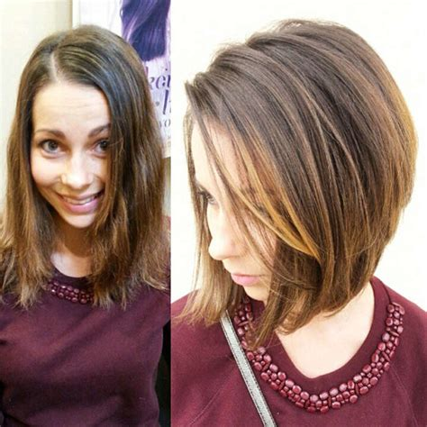 medium to short hairstyles with highlights and layers or stacked 120 trendiest medium hairstyles for women and men
