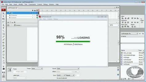 actionscript tutorial in flash actionscript 3 preloader flash tutorial youtube
