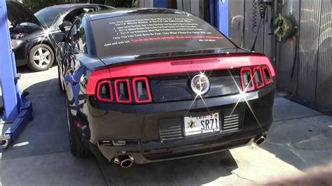 mustang gt roush exhaust 2014 mustang gt roush axle back exhaust upgrade