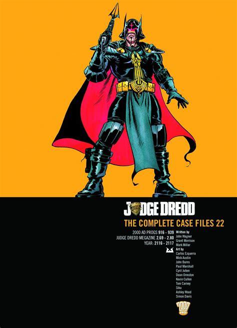 the riven mapped space volume 3 books judge dredd the complete files vol 22 fresh comics