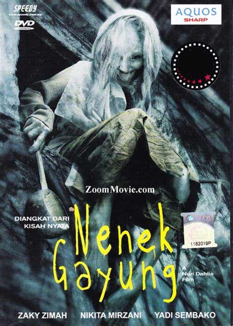 vidio film horor nenek gayung nenek gayung dvd indonesian movie 2012 cast by zacky