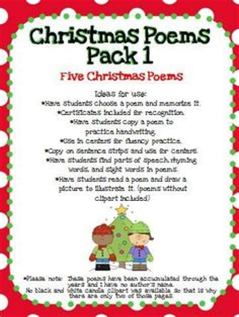 christmas themed poems 1000 images about holiday themed goodies on pinterest