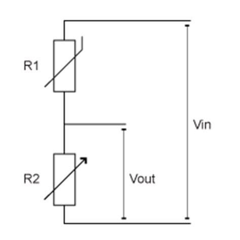 variable resistor circuit exles gcse bitesize potential dividers