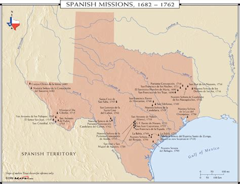 map of missions in texas myths of conquest part six desolation in the missions badhistory