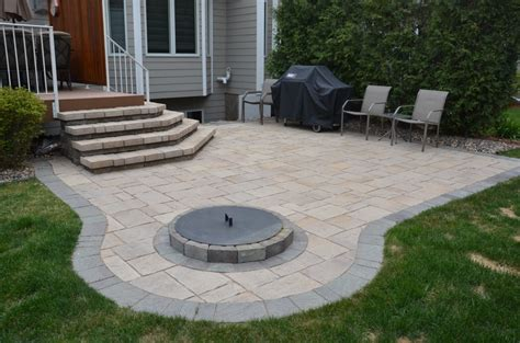 Patios Aspen Landscape Inc Paver Patios With Pit