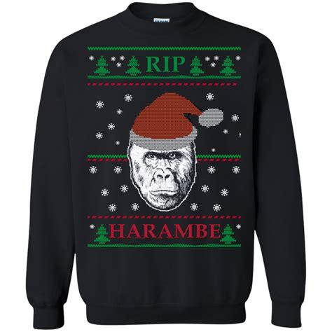 Sweater Harambe harambe rip sweater t shirt