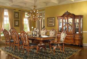 Dining room elegant dining room design with round glass table and