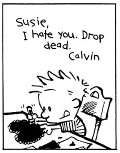 calvin and hobbes valentines day 17 best images about calvin and hobbes on