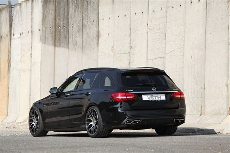 Mercedes C43 Tieferlegung by Mercedes C450 Amg Gets Treatment From Vath Carscoops
