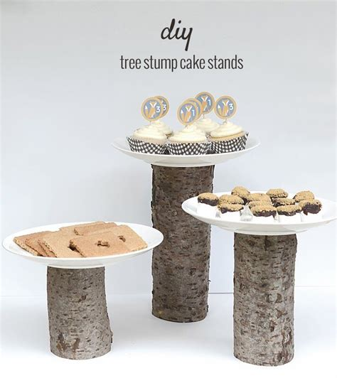 where can i buy a tree stand 5 diy cake stands you can do with wood logs and slices