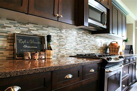 Backsplash In The Kitchen Glass Tile For Backsplash In Luxury Kitchen Home Interiors