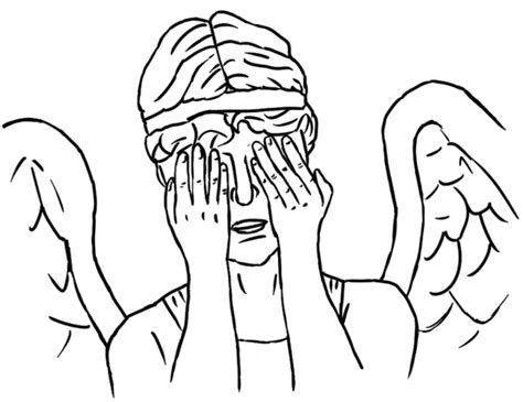 Weeping Angels Coloring Page | colour your own weeping angel by jinkies36 on deviantart