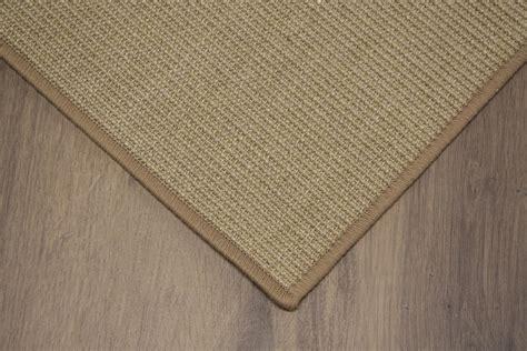 sisal teppich meterware sisal teppich umkettelt creme 200x300cm 100 sisal