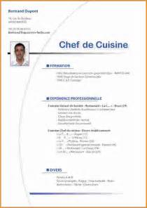 Curriculum Vitae Service by 7 Cv Facile Exemple Lettres