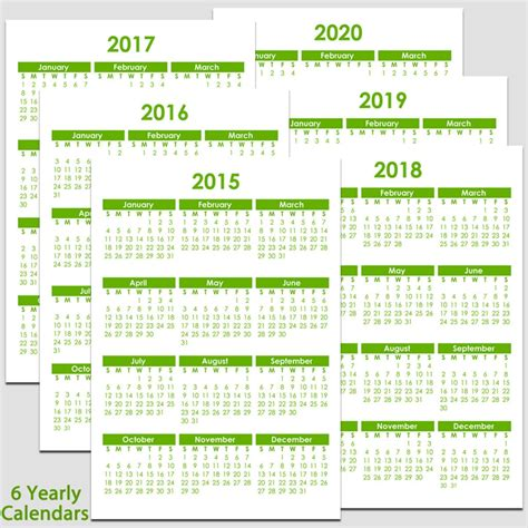 2015 calendar templates for excel oodles of different