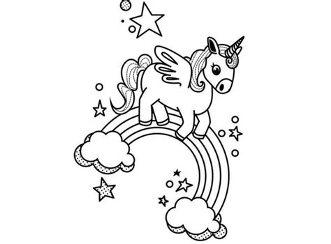 Imagenes Kawaii Para Colorear De Unicornios | im 225 genes de unicornios para descargar listas para imprimir