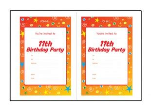 birthday card template 11 year boy supplies cheap ideas year boys birthday
