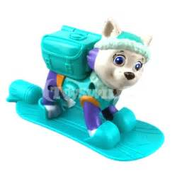 Paw patrol gt lovely paw patrol pvc figures snowboard everest for fans