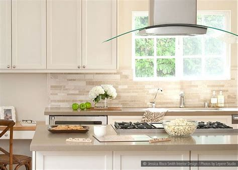 travertine subway backsplash tile design inspirations