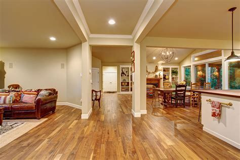 Interior: Using Tremendous Hickory Flooring Pros And Cons