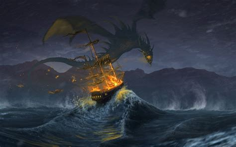 epic dragon wallpaper wallpapertag
